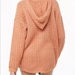 Forever 21 light weight knit hoodie